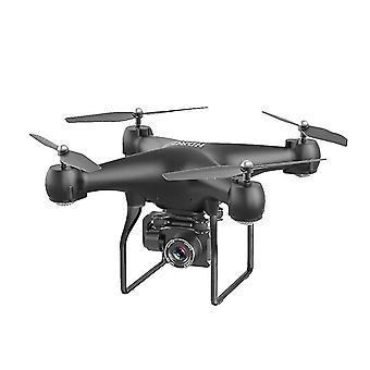 2.4g Profesjonell Drone Gps 4k Fjernkontroll Fly Selfie Quadcopter (svart)
