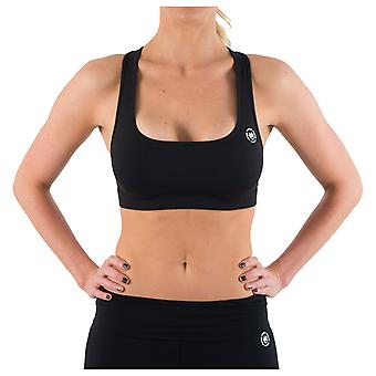 Dethrone Women's Performance Sports Bra - Black