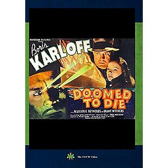 Doomed to Die [DVD] USA import