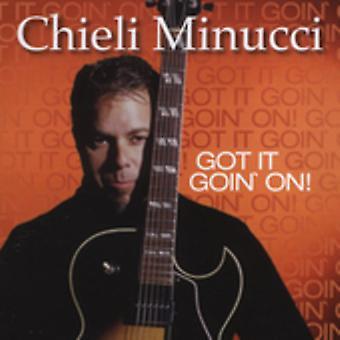 Chieli Minucci - Got It Goin ' On! [CD] USA import