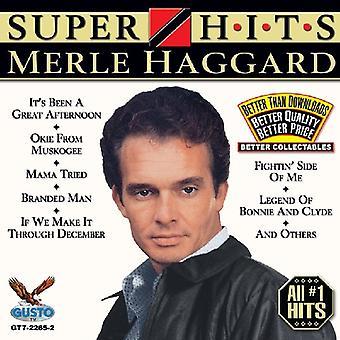 Merle Haggard - Super Hits [CD] USA import