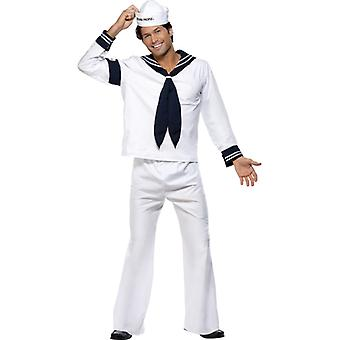 Original Village People Kostüm Outfit Navy Seemann Gr. M