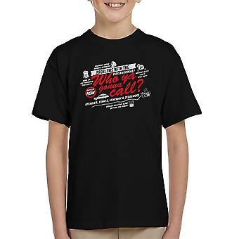 Better Call The Boys In Grey Ghostbusters Kid's T-Shirt