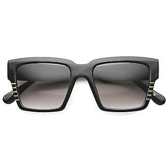 Womens Platz Sonnenbrille UV400 geschützt Gradient Lens