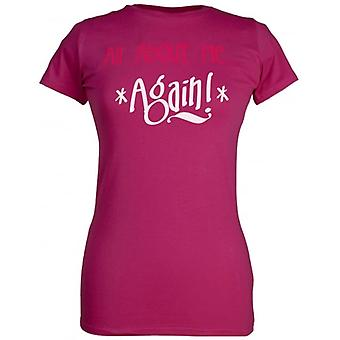 Spoilt Rotten All About Me... Again! Women's T-Shirt Purple (12-14)