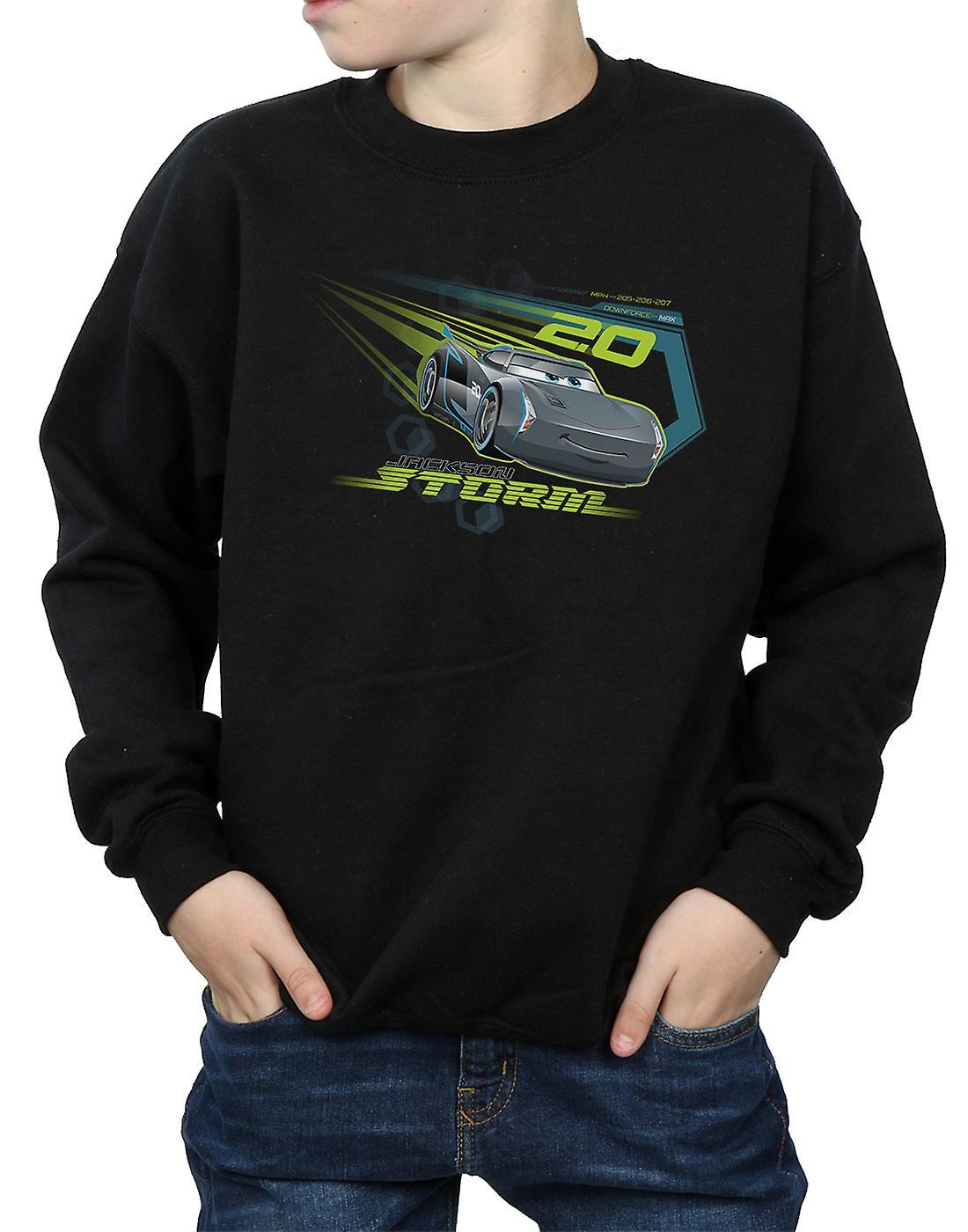 disney boys cars jackson storm sweatshirt  fruugo uk