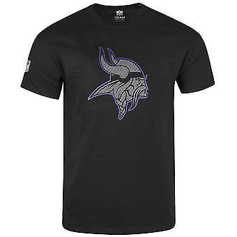 Majestic TANSER shirt - NFL Minnesota Vikings Black