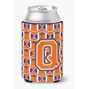 Brevet Q fotball Orange, hvit og Regalia kan eller flaske Hugger