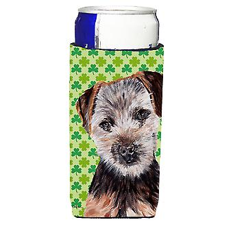 Norfolk Terrier Puppy Lucky Shamrock St. Patrick's Day Ultra Beverage Insulators