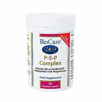 Biocare P-5-P Complex, 60 Vegetable Capsules