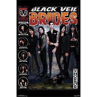 Black Veil Brides - berättelser om skräck affisch affisch Skriv