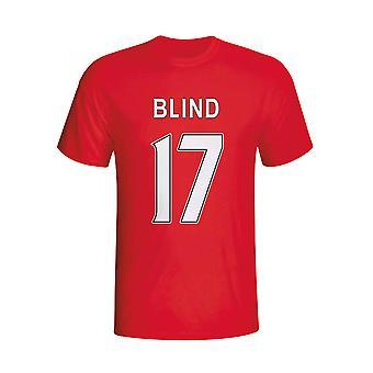 Daley Blind Man Utd Hero T-shirt (red)