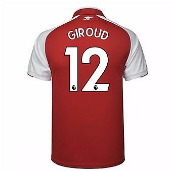 2017-18 Arsenal Home Shirt (Giroud 12)