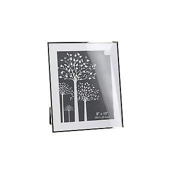 CGB cadeaux argent plat bord cadre Photo (8x10in)