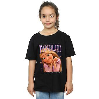 Disney Girls Tangled Rapunzel Montage T-Shirt