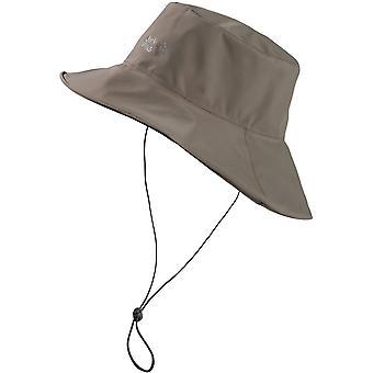 Jack Wolfskin miesten & naisten Texapore vedenpitävä vuorattu sateinen päivä hattu