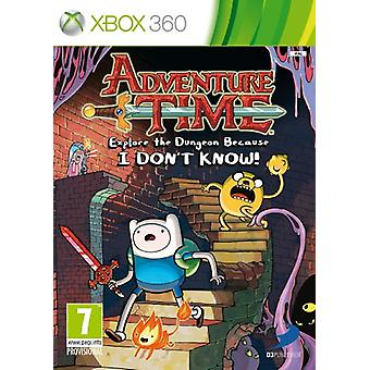 Adventure Time Explore the Dungeon Because I don't know (Xbox 360) - Nowość