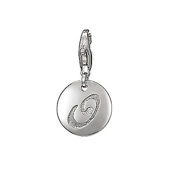 ESPRIT pendant of charms silver letter O ESZZ90835A000