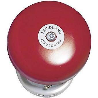 Friedland 581089 Bell apparatus 24 - 42 V 91 dB (A) Red