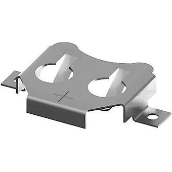 Keystone 3012 Knopfzellenhalter 1x CR1616, CR1620, CR 1625, CR1632 Horizontal, SMD (L x B x H) 23,22 x 15,07 x 3,96 mm
