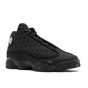 Air Jordan 13 Retro Bg (Gs) 'Black Cat' - 884129-011 - Shoes