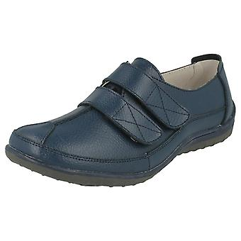 Ladies Down To Earth Flat Casual Shoes