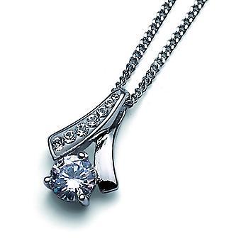 Oliver Weber Pendant Nice 925Ag Rhodium Crystal