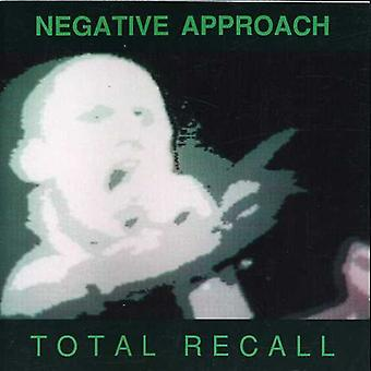 Negative Approach - Total Recall [CD] USA import