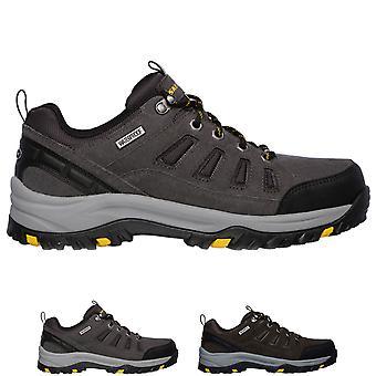 Mens Skechers Relment Songeo Lightweight Walking Trekking Hiking Trainer - Grey - 7