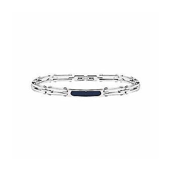MASERATI - bracelet - men's-PRESTIGE rubber steel - JM417AKV02