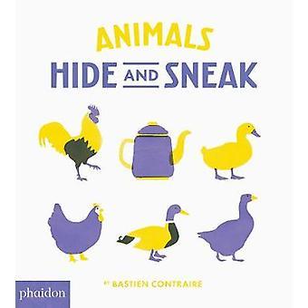 Dieren - verbergen en sluipen door Bastien Contraire - Meagan Bennett - 97807