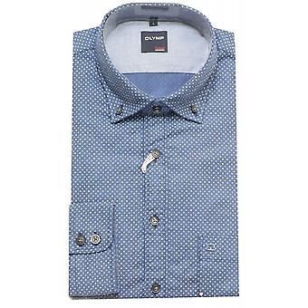 OLYMP Shirt 4006 24 18 Blue