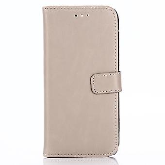 Huawei Honor 9 Retro Wallet Caso-Beige