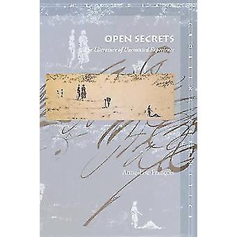 Offene Geheimnisse - die Literatur unzählige Erfahrungen von Anne-Lise Fra