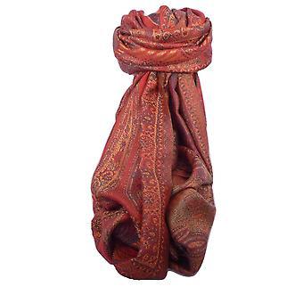 Estola de seda Jamawar Premium patrón 4232 por Pashmina y seda