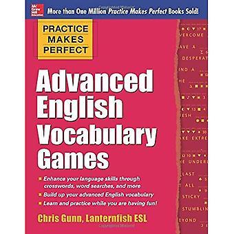 Övning ger perfekt avancerad engelska ordförråd spel (övning ger perfekt serie)