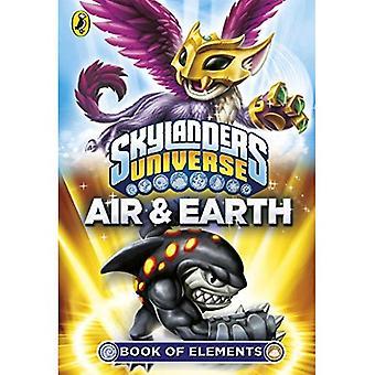 Skylanders kirjan elementit: ilma ja maa