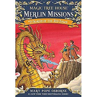 Dragon de l'aube rouge: Mission de Merlin avec des tatouages (maison de l'arbre magique)
