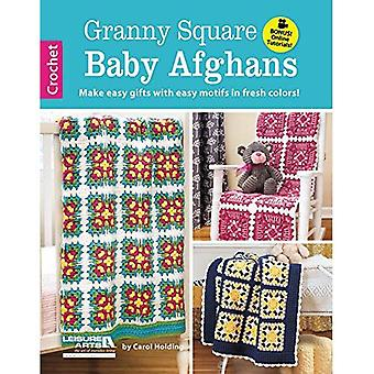 Granny Square Baby Afghans: Make Easy Gifts with Easy Motifs in Fresh Colors!