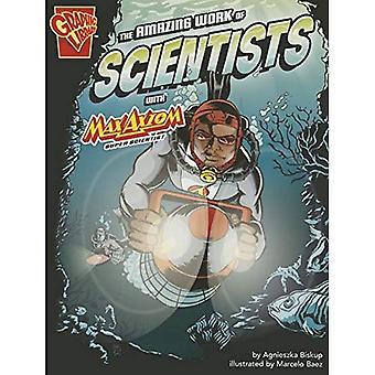 L'incredibile lavoro di scienziati con Max Axiom, Super scienziato