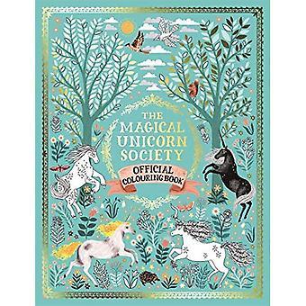 De magische Unicorn Society officiële kleurboek