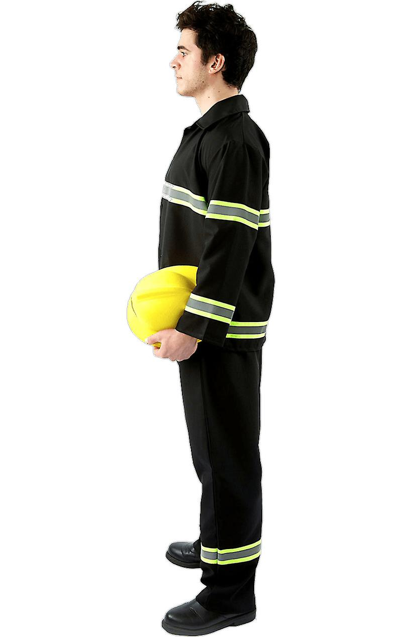 Orion Costumes Mens Fireman Stag Do Fire Fighter Uniform Funny Fancy Dress