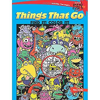 Gnista saker som går att hitta det! färg det!