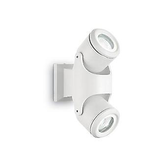 Ideell Lux - Xeno hvit dobbelt vegg lys IDL129495