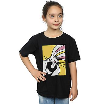 Looney Tunes Mädchen Bugs Bunny Lachen T-Shirt