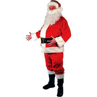 Santa perässä aikuinen miehille