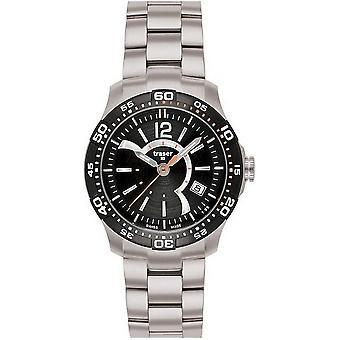 Черные женские часы Traser H3 Ladytime T7392. 2A6. G1A. 01-100288