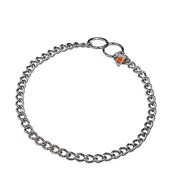 HS Sprenger Stainless Steel Round Link Dog Collar