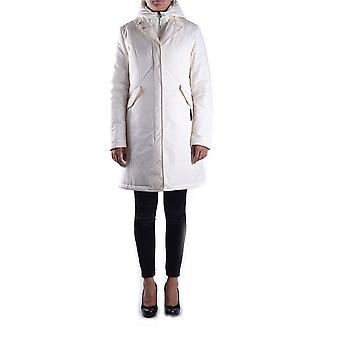 Brema Ezbc146021 Women's White Nylon Outerwear Jacket