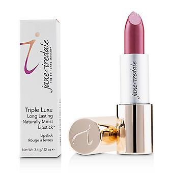 Jane Iredale Triple Luxe Long Lasting Naturally Moist Lipstick - # Ella (deep Rose Brown) - 3.4g/0.12oz
